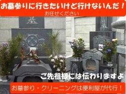 画像1: お墓参り代行